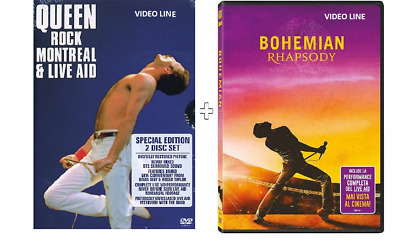 Dvd Queen - Rock Montreal & Live Aid (2 Dvd) Bohemian Rhapsody - Queen