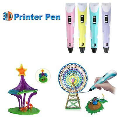 New 3D Printing Pen 2nd Crafting Doodle Drawing Art Printer Modeling DIY-