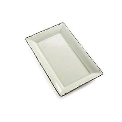 American Metalcraft - AWMEL21 - 21 in x 13 in Antique White Platter