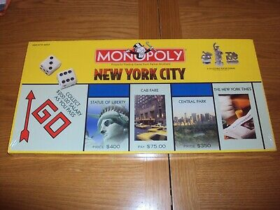Monopoly New York City Edition USAopoly Board Game Brand New Sealed Free UK P&P
