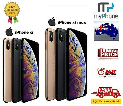 As New Apple iPhone XS / XS Max, 64GB / 256GB / 512GB 4G Cheap AU Model AU Stock