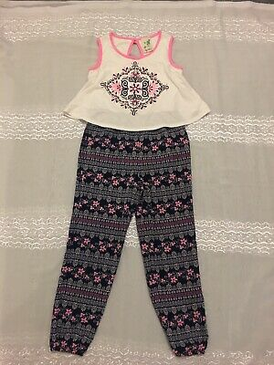 """"""" Lily Blue """" All In One Girls Multicoloured Outfit Age 7"""