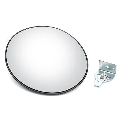30cm Wide Angle Security Curved Convex Road Traffic Mirrors Safety Driveway