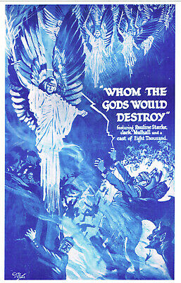 Silent Movie Photo 1919 Whom The Gods Would Destroy Wwi Avenging Angels Lost Mov