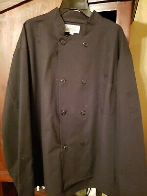 Pro Series Black Chef's Jacket, Size X Large