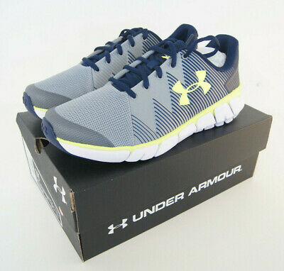 Under Armour Kids Youth Shoes Size 7Y Navy UA BGS X Level Scramjet 2 3022194-400