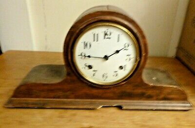 Antique Waverly Chiming  Mantle Clock with key