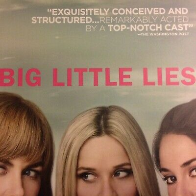 BIG LITTLE LIES Reese Witherspoon HBO 2 DVD Set 2017 FYC EMMY Complete Season 1