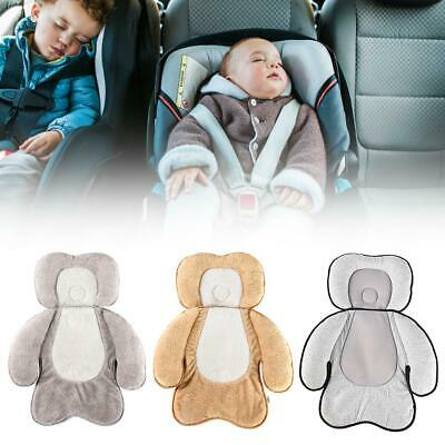 Newborn Baby Pillow Car Seat Stroller Cushion Pad Liner Mat Body Support Warm