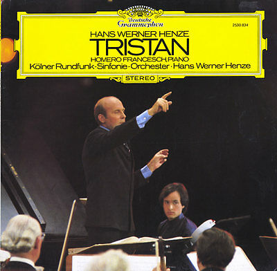 HENZE Tristan (prelude for piano tapes and orcherstra) FRANCESCH DGG 2530834 LP