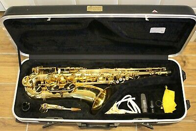 Trevor James Classic Tenor Saxophone, Stand, Cleaning Tools, Excellent Condition