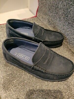 Next BOYS Smart Boat Shoes Navy Size 11 Worn Once
