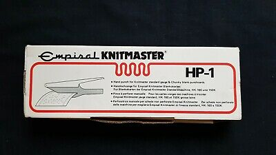 Knitmaster Knitting Machine Parts Tools Accessories Punch Card Hole Punch Hp1