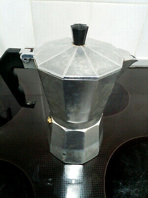 Moka Mocha Espresso 6 cup Aluminium Percolator Coffee Maker Stovetop UK