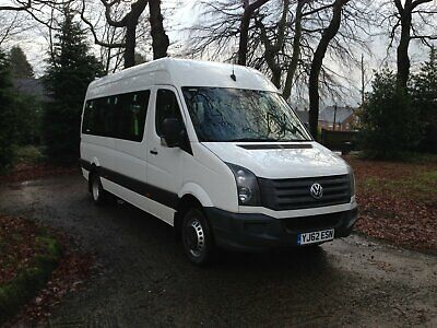 Vw Crafter Cr50 143 Psi Minibus Psv 17 Seat W/C Access V/Low 108,000 Miles 2013