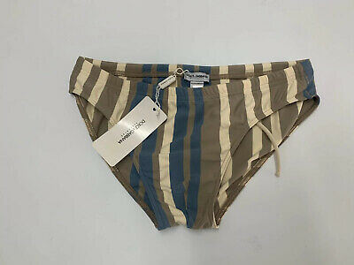 DOLCE /& GABBANA Men/'s Multi-Color Printed Swim Briefs Q00104 Size S//4 NWT $333