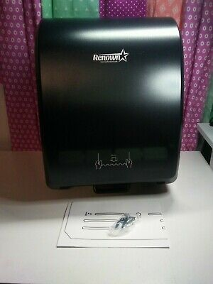 Renown ren05174-wb  Mechanical Hand towel Roll  Dispenser NEW (black)