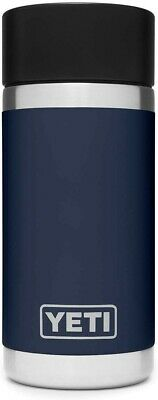 YETI Rambler 12 oz Stainless Steel Vacuum Insulated Bottle with Shot Cap - Navy