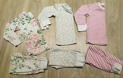 2-3 Years Girls NEXT Snuggle Fit Pyjama Bundle