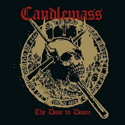 Parche imprimido /Iron on patch, Back patch, Espaldera /- Candlemass - The Door