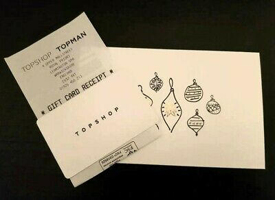 Topshop Gift Card £40 Unactivated