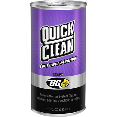 BG 108 Quick Clean for Power Steering BG108 - 325ml