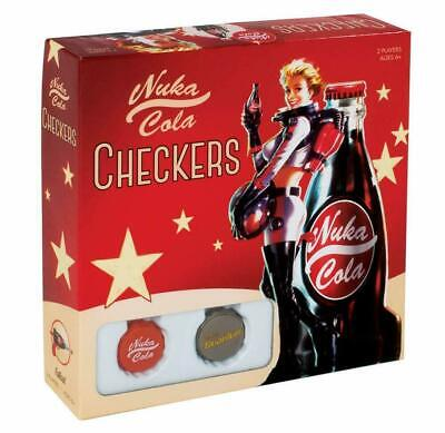 Fallout Nuka-Cola Checkers Dame Board Games Game New