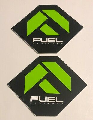 Fuel off road sticker decal decals 1 stickers fuel wheel wheels USA made octagon