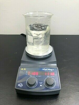 Chemglass Hot Plate Magnetic Stirrer Optimag Stirring Digital Mix Heat WARRANTY
