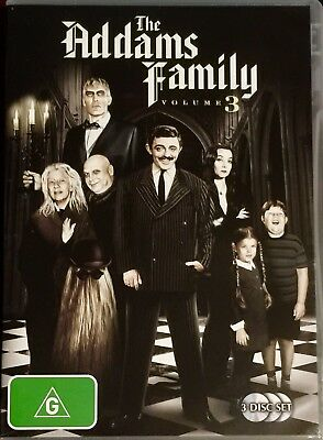 The Addams Family : Season 3 (DVD, 2007, 3-Disc Set)