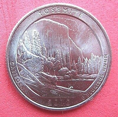 "USA   B/UNC  ""AMERICA THE BEAUTIFUL""  QUARTER   2010  ""YOSEMITE"" Mint D"