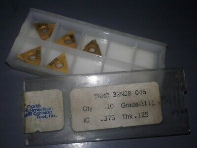 5 Pc. North American Carbide Tnmc 43 Ngr 046 Grade Na111
