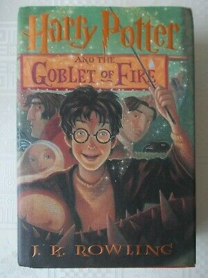 Harry Potter and the Goblet of Fire hardback book Scholastic American
