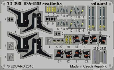 eduard 73568 1//72 Aircraft Painted Seatbelts B17G Steel for Airfix