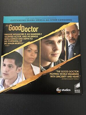 The Good Doctor 2019 NEW DVD Medical Drama Series TV SHOW EMMY FYC SCREENER ,.