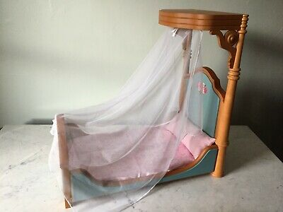 American Girl Doll Marie Grace and Cecile/'s Half Canopy Bed /& Bedding NEW!!