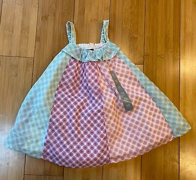 Baby Gap Infant Girls 0-3 Months floral sundress spring summer dress Easter