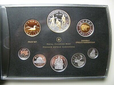 1812-2012 Premium Proof Set 200th Ann War Farewell Penny Canada .9999 silver