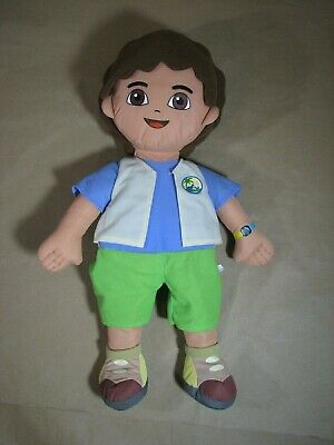 "Nick Jr. Dora the Explorer Diego Stuffed Doll Toy 25"" Fisher-Price 2006"