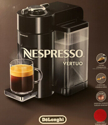 Brand New Nespresso ENV135R Vertuo Evoluo Coffee Espresso Maker In Red