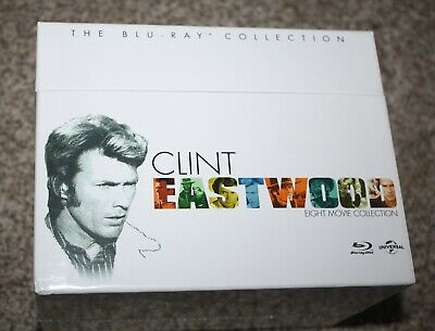 BRAND NEW Clint Eastwood - The Blu-ray Collection
