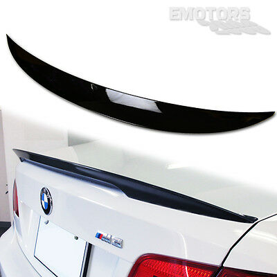 PAINTED #668 For BMW E92 3-SERIES COUPE HIGH KICK P STYLE TRUNK SPOILER 328xi
