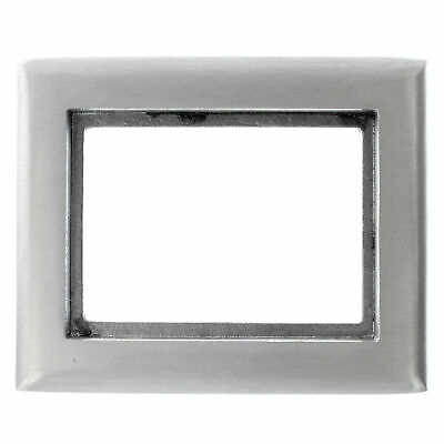Hubbell Sa3083 Aluminum 1-Gang Round Floor Box Rectangle Carpet Tapered Flange