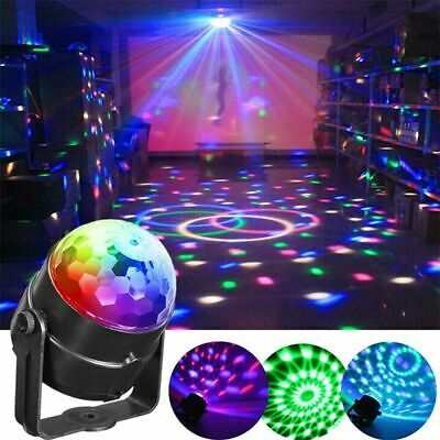 DJ Disco Ball Party Stage Lights Sbolight Led 7Colors Effect Bar Lighting Remote