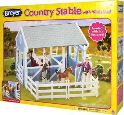 NEW Breyer Classics Country Stable from Mr Toys