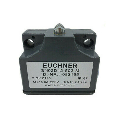Euchner Precision Limit Switch SN02D12-502-M SN02R12 2 Contact for Machine