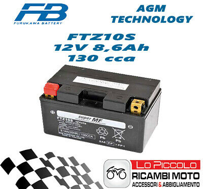 Powerline GENUINE HONDA CBR1000RR 2008-2010 BATTERY YTZ7S YTZ7-S NEW