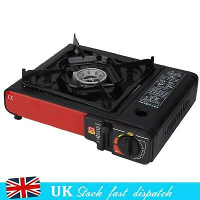 Portable Gas Stove Single Burner Indoor Outdoor BBQ Camping Cooktop Cooker Hob