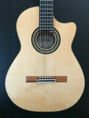 2019 Camps Fl11C Electroacoustic Flamenco Guitar In Mint Condition