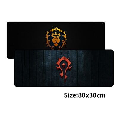 800*300mm large gaming mousepad mat for World of Warcraft mouse pad WOW Dragon